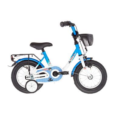 """Vélo Enfant VERMONT CAPITAINE 12"""" Bleu/Blanc 2019"""